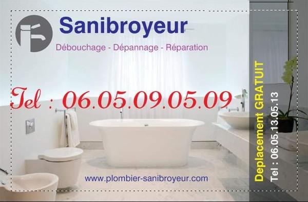 debouchage sanibroyeur tel 0605130513 page 2. Black Bedroom Furniture Sets. Home Design Ideas
